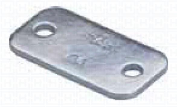 SS. UPPER PLATE REINFORCED CLAMP GR.3