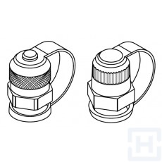 PROTECTIVE CAP CHECK COUPLING PLASTIC