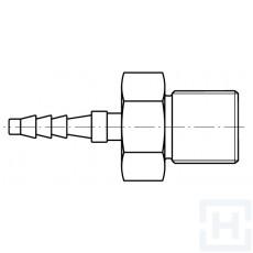 """MICRO-HOSE MALE 1/4"""" BSP DN2"""