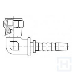"S.S. 90º JIC COMPACT SWIVEL FEM 7/16"" 20H UNF DN1/4"""