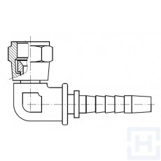 "S.S. 90º JIC COMPACT SWIVEL FEM 1""5/16 12H UN DN1"""