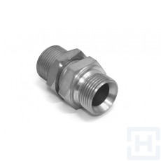 """STRAIGHT BULKHEAD ADAPTOR WITHOUT NUT 1/2"""" BSP 1/2"""" BSP"""