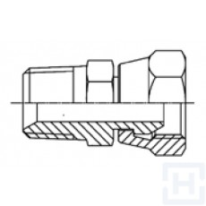 "ADAPTOR BSP SWIVEL FEM 60º-BSPT MALE 60º M 1/4"" BSPT F 1/4"" BSP"