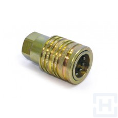"""PUSH-PULL QUICK RELEASE COUPLING FEMALE 3/4"""" UNF F"""