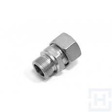 STRAIGHT MALE STUD COUPLING CAPTIVE SEAL Ø25 S M33X2