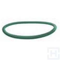 O'RING FKM GREEN FOR JIC MALE THREAD 9/16'' 18H UNF