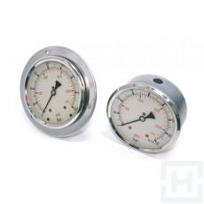 "PRESSURE GAUGE DN100 REAR CONN 1/2""BSP 0-600"