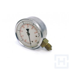 "PRESSURE GAUGE DN100 VERTICAL 1/2""BSP 0-600"