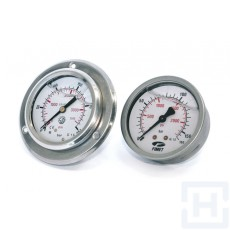 PRESSURE GAUGE DN63 REAR CONNECT 1/4'' BSP 0-25