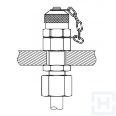 CHECK COUPLING FOR MANOMETER M16X1.5