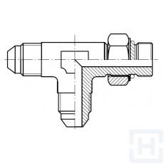 "TEE M JIC - M JIC - ADJ. METRIC BANJO M 7/8"" 14H UNF M22X1,5"