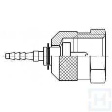 S.S. MICRO-HOSE CHECK METRIC SWIVEL FEM M16X2 DN2