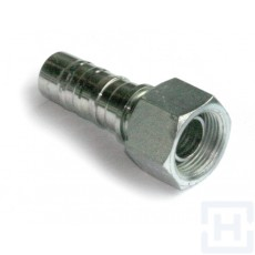 "S.S.DOBLE HEX.SWIVEL FEM.60º+O'RING BW 3/4"" BSP DN3/4"""