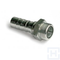 S.S. INTERLOCK ORFS MALE 1 3/16-12 DN3/4""