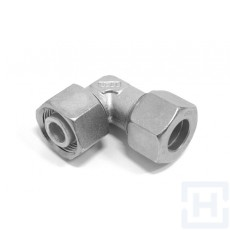 SS ADJ. STUD ELBOW +NUT & RING Ø42 L