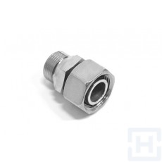 "SS STR.STUD ADAPT.+C.SEAL-MET.SWIVEL FEM Ø25 S 1""BSP"