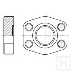 """S.S. BLIND FLANGE 3000 PSI 3""""1/2"""