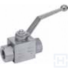 "2WAYS BALL VALVE FEMALE TRALE 1/4"" BSP S.S."