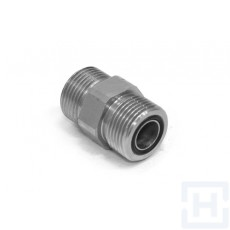 "S.S. MALE ADAPTOR ORFS 1""11/16-12H ORFS 1""11/16-12H"