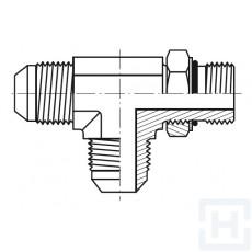 S.S. ADJ. TEE M JIC-M O'RING BOSS-M JIC Ø6 Ø1/4 7/16'' - 20H UNF